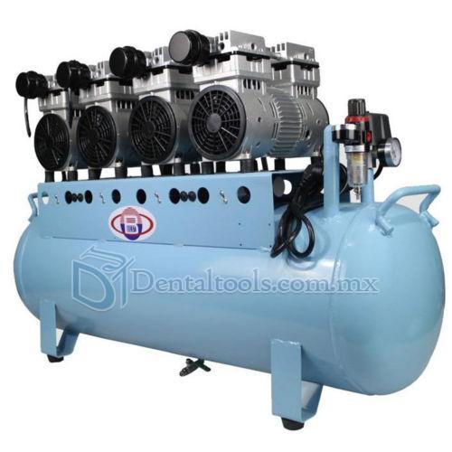 Alta calidad 150l dental compresor de aire silencioso sin for Compresor de aire silencioso