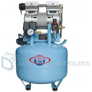 40L Compresor de Aire Clinica Dentales Silencioso sin aceite 150L / min 1-Conducir-2 Fiable BD-201