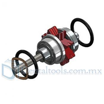 Dentex M3-m Mini Cabeza Push Button Turbina Cartridge