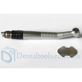 Dental Alta Velocidad Push Button Pieza de Mano Dental Grye con Coplador