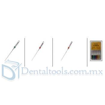 60Pcs Dental K-Archivo Hyy SCF Niti Alloy 21/25mm