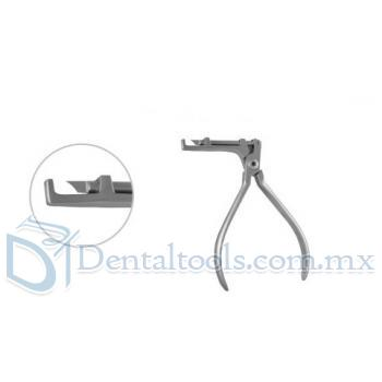 Ortodoncia Alicates Dental bucal Tubo Convertible Cap Extracción alicates 618-101