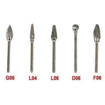 5PCS Tungsten Carbide Burs Para Micromotor Dental