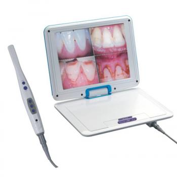 12.1 Pulgada LCD Alta Resolución  1/4 SONY CCD Dental Cámara intraoral M-968
