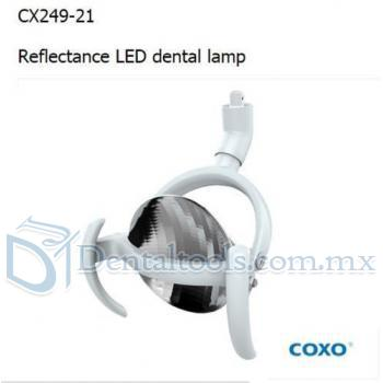 Yusendent Lámpara Dental Luz Reflectancia LED Sin Escalones Ajustable CX249-21