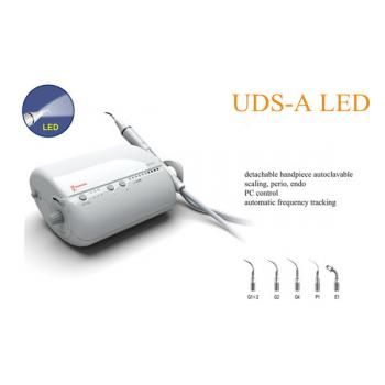 Woodpecker® UDS-A Dental Escareador Ultrasonico Fibra óptica LED