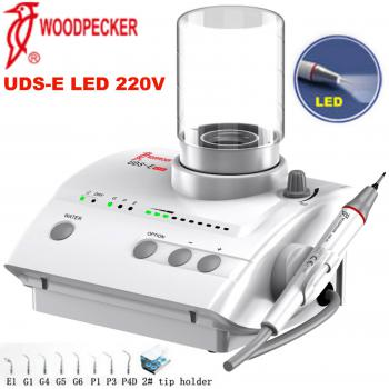 Woodpecker® UDS-E LED Fibra óptica LED Escareador Ultrasonico EMS Compatible
