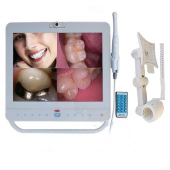 MD1500 15 pulgadas monitor dental + sistema de cámara oral intraoral cableada VGA + VIDEO Puerto