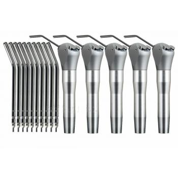 5 Pcs Jeringa Dental 3 Vías jeringa triple + 10 boquillas