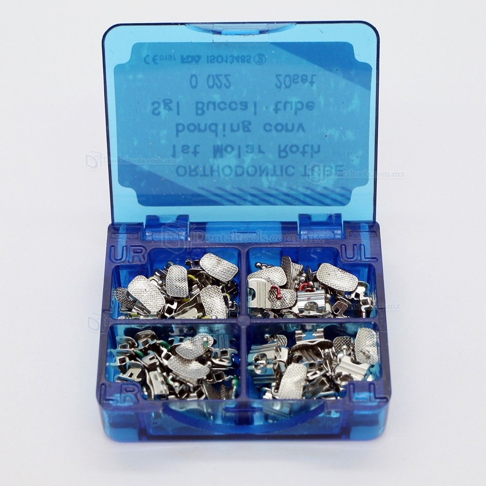 Dental ortodoncia Bonding bucal Tubo convertible Roth 0.022 1er molar de 20 conjuntos