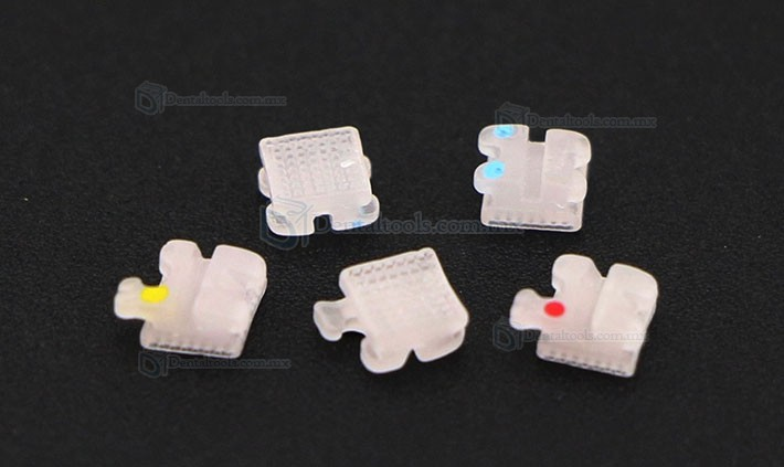 Dental Ortodoncia Brackets de Metal Tirantes Mini Roth 022 3 4 5 Ganchos