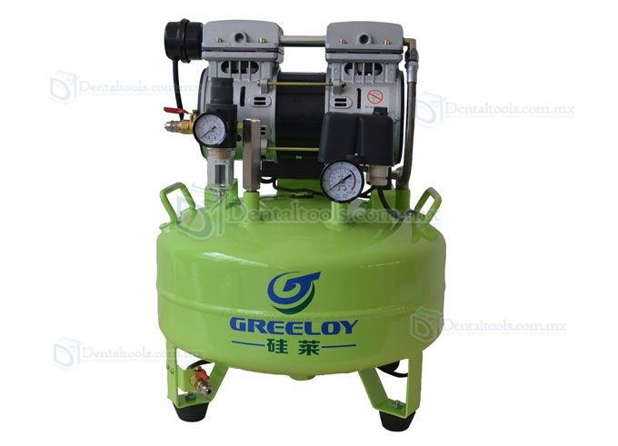 Greeloy® Compresor De Aire Dental GA-61 600W